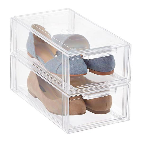 Picture of Clear Stackable Shoe Drawer  Med