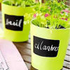 Picture of Labels, 60 Chalkboard Label Stickers - Canisters Labels - Chalk Makers Erasable