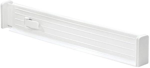 Picture of interdesign adjustable drawer organizer white S/2